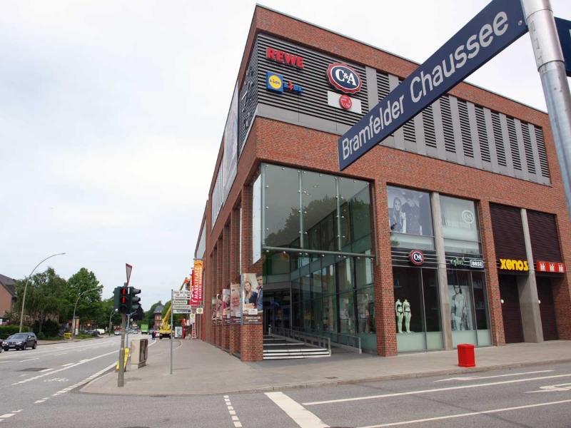 Bramfelder Chaussee - Einkaufszentrum Bramfeld