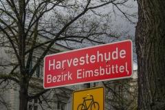 Harvestehude Ortseingang