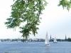 Segelschiffe auf der Alster