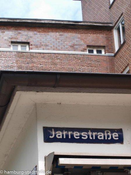 Die Hauptschlagader der Jarrestadt.