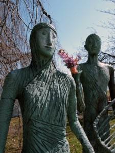 Skulptur Alster Hamburg