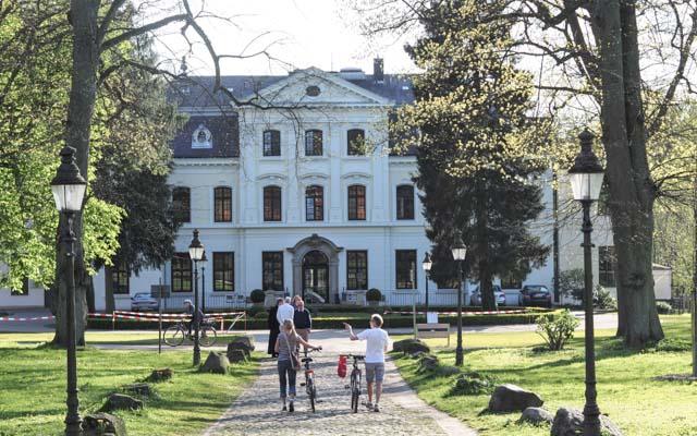 Herrenhaus in Wellingsbüttel.
