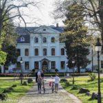 Das Herrenhaus Wellingsbüttel im Sommer
